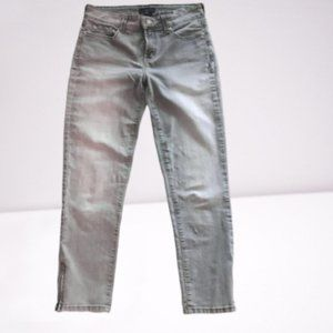 NYDJ Zip Up Ankle Cut Lift Tuck Jeans